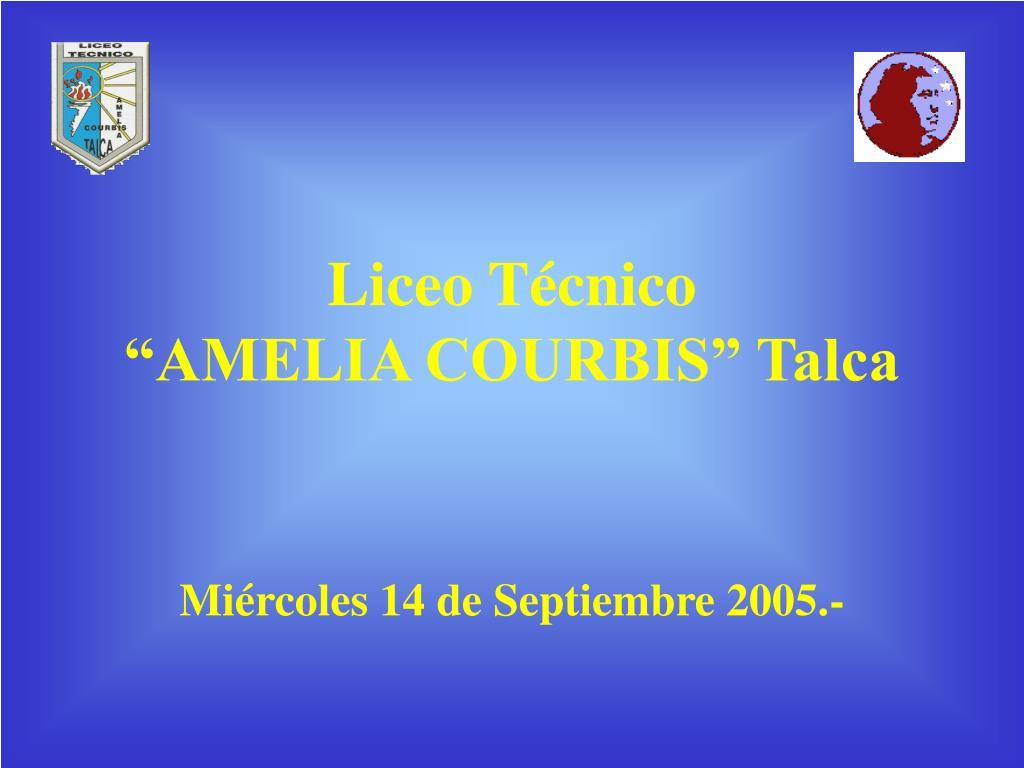 liceo t cnico amelia courbis talca l.