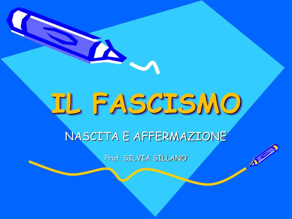 il fascismo l.