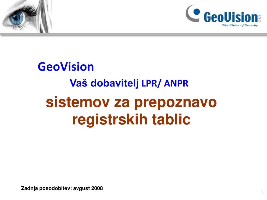 geovision l.