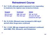 retreatment course
