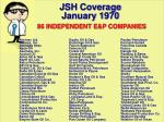 jsh coverage january 1970