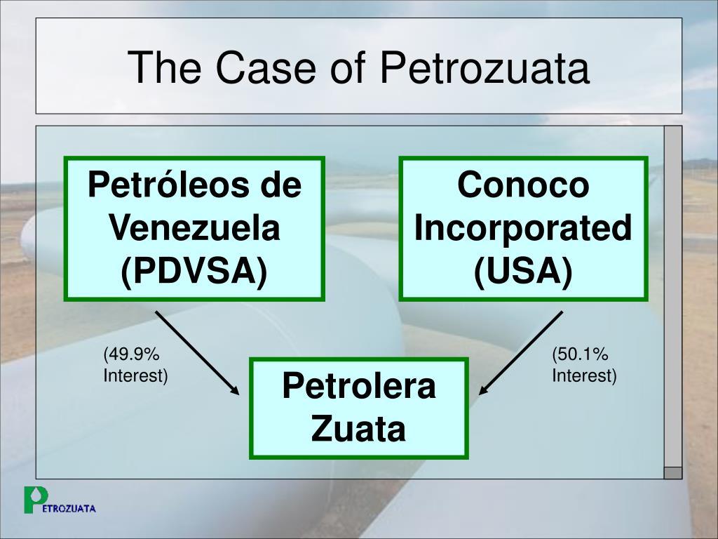 The Case of Petrozuata