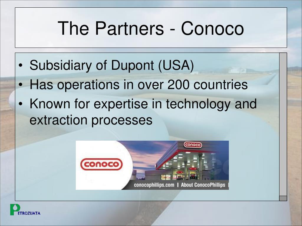 The Partners - Conoco