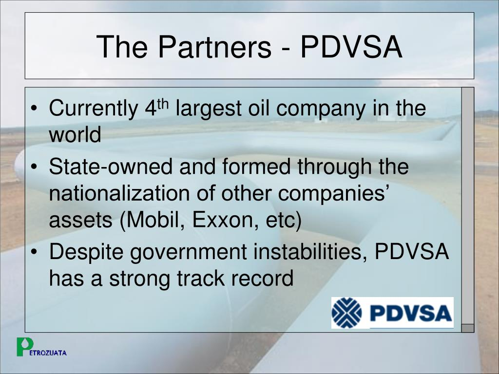 The Partners - PDVSA