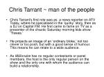 chris tarrant man of the people