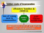 hidden costs of incarceration