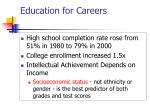 education for careers