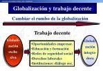 globalizaci n y trabajo decente