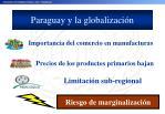 paraguay y la globalizaci n