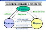 los circuitos macro econ micos