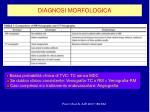 diagnosi morfologica