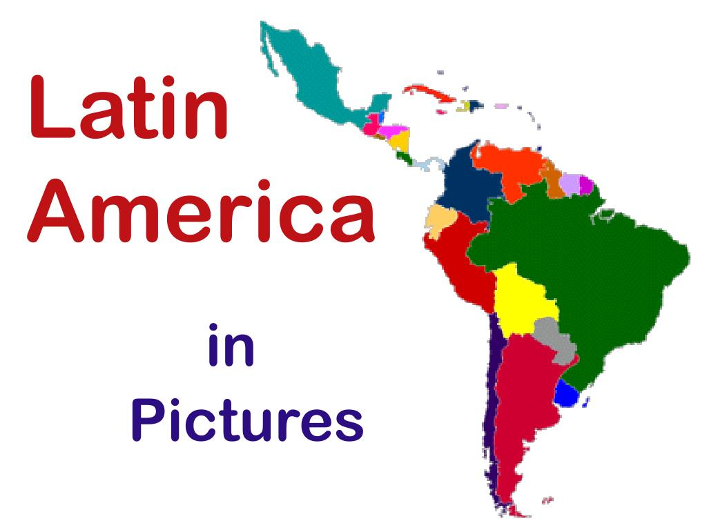 latin america in pictures l.