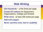 web writing99