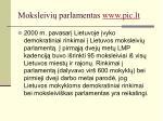 moksleivi parlamentas www pic lt