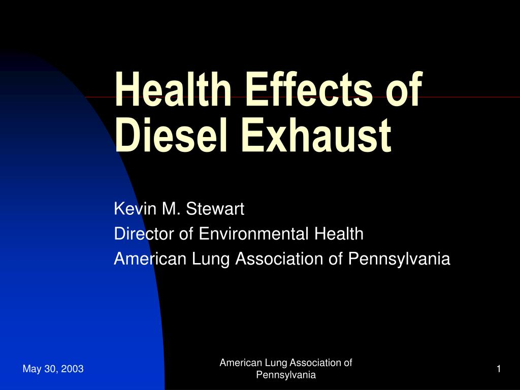 health effects of diesel exhaust l.