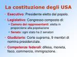 la costituzione degli usa