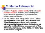 2 marco referencial