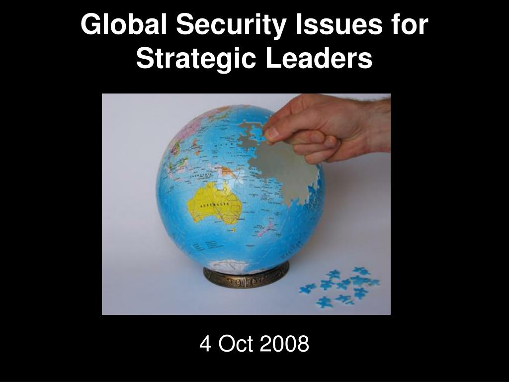 global security issues for strategic leaders l.