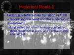 historical roots 2