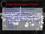 legal sociological factors
