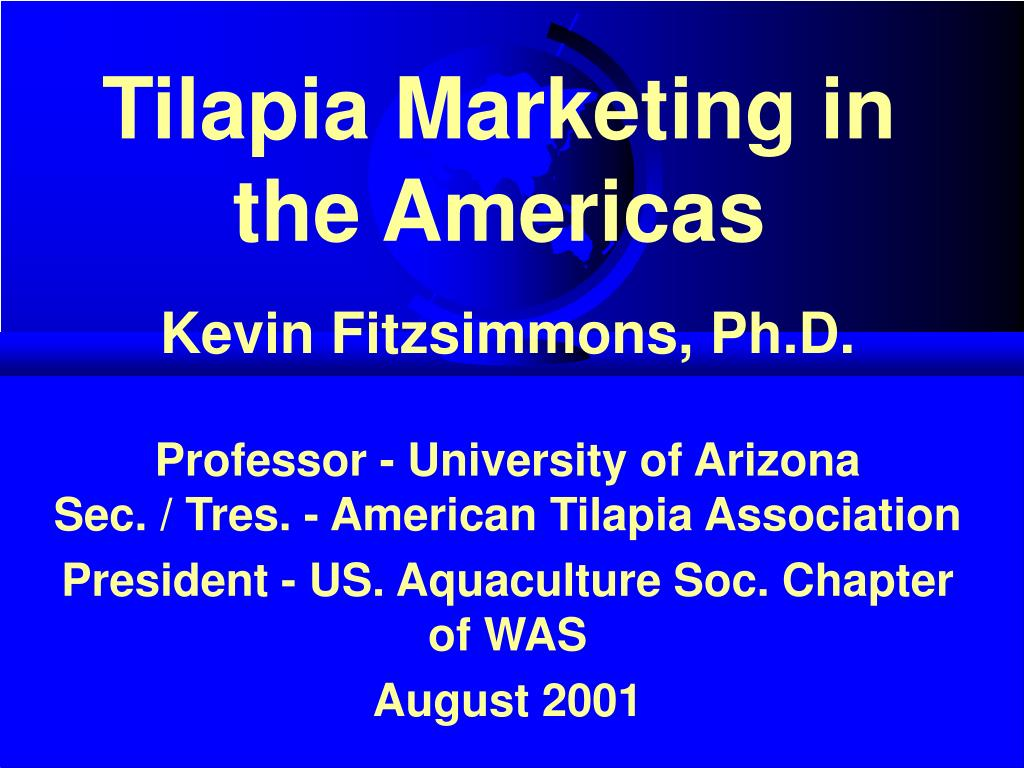tilapia marketing in the americas l.