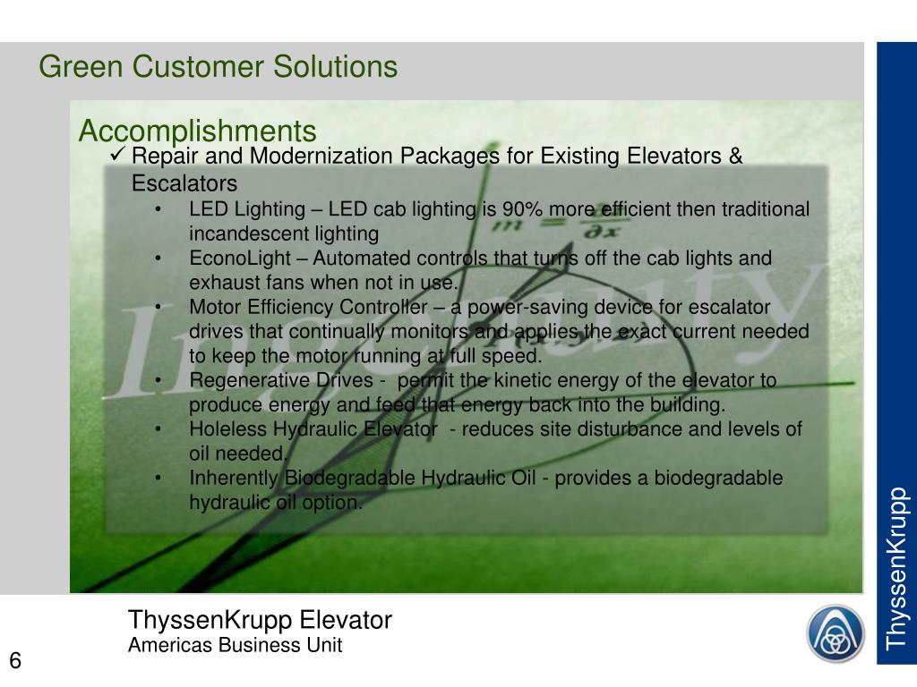 Green Customer Solutions