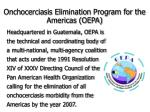 onchocerciasis elimination program for the americas oepa