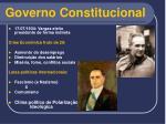 governo constitucional11