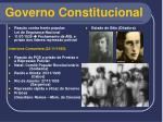 governo constitucional14