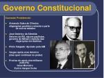 governo constitucional15