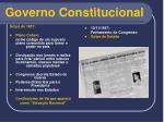 governo constitucional16