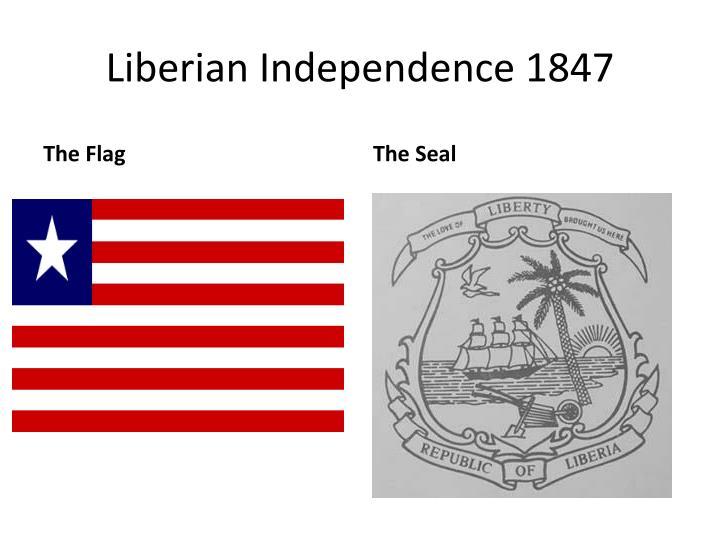 Liberian Independence 1847