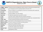 awips ii dependencies open source based updated oct 05 2009