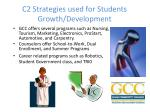 c2 strategies used for students growth development