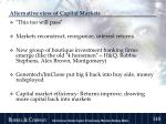 alternative view of capital markets