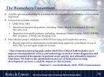 the biomarkers consortium