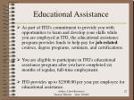 educational assistance