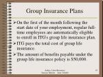 group insurance plans