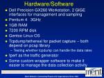 hardware software
