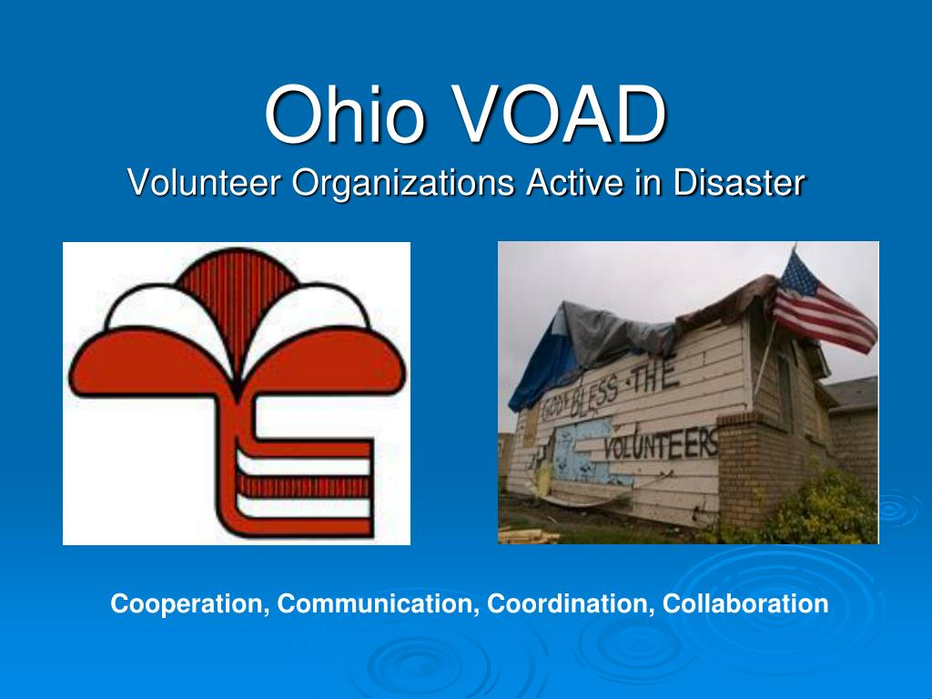 ohio voad volunteer organizations active in disaster l.