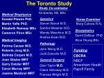 the toronto study