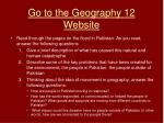 go to the geography 12 website