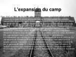l expansion du camp18