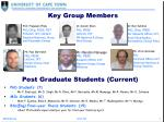 key group members