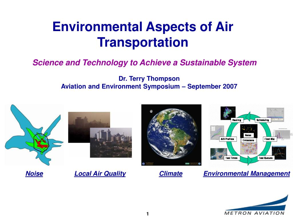 environmental aspects of air transportation l.