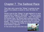 chapter 7 the sailboat race