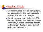hawaiian creole