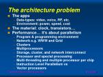 the architecture problem