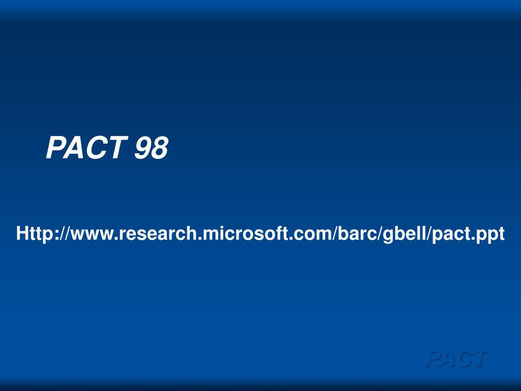 pact 98 l.