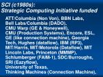 sci c1980s strategic computing initiative funded